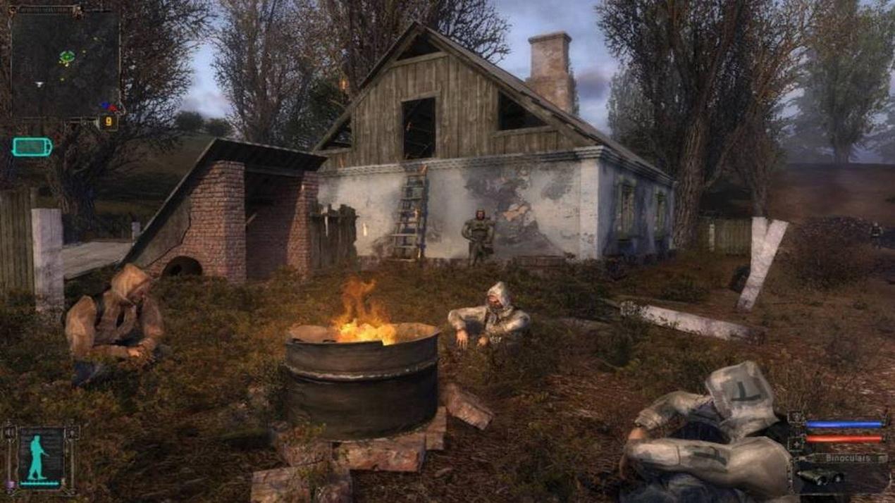 Картинки с игры сталкер тень чернобыля